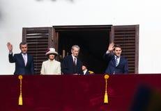 Família real de Romênia Fotografia de Stock