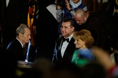 Família real de Romania foto de stock