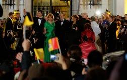 Família real de Romania imagens de stock