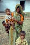 Família rural Imagens de Stock Royalty Free
