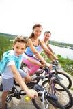 Família sadia fotografia de stock royalty free