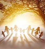 Família unida Fotos de Stock Royalty Free