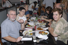 Famílias de ISRAEL_Jews fotografia de stock royalty free