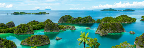 Fam Island in Raja Ampat Stock Photography