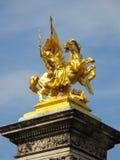 A fama dourada Imagens de Stock Royalty Free