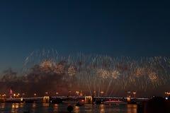 Fama Sydney Harbour NYE Fireworks Display do mundo fotos de stock