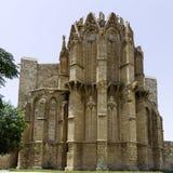 Famagusta哥特式大教堂,北部塞浦路斯 图库摄影