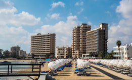 Famagusta  beach Cyprus Royalty Free Stock Photography