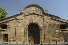 Famagusta Gate. Is one of the entrances to the old town of Nicosia, Cyprus - the world's last divided city Stock Images