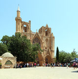 Famagusta Gothic Cathedral, North Cyprus Royalty Free Stock Photo