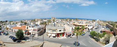 Famagusta old city panorama Stock Photos