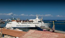 Famagusta port -  North Cyprus Royalty Free Stock Images