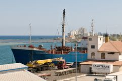 Famagusta port -  North Cyprus Royalty Free Stock Photography
