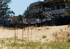 Famagusta. Is a strange place in the north of Cyprus Stock Photos