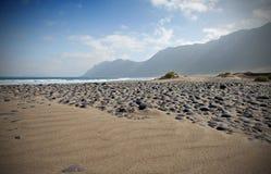 Famara beach Royalty Free Stock Photography