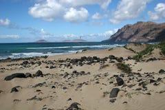 Famara Strand, Lanzarote stockfotografie
