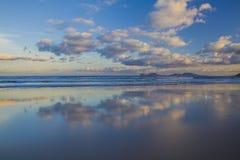 Famara-Strand, Lanzarote, Atlantik stockfotografie