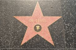 fame好莱坞博士seuss担任主角结构 免版税库存照片