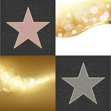 Fame Stars Royalty Free Stock Photography