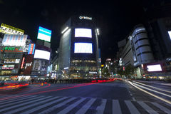 The famed crossing of Shibuya district Stock Images