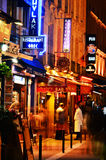 Famed for its nightlife Paris has about 40 000 restaurants Royalty Free Stock Images