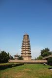 famen le temple Photos libres de droits