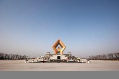 famen pagodaen Royaltyfria Bilder