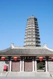 Famen Tempel-Pagode in Xian stockbild