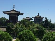 famen tempelet Arkivfoto