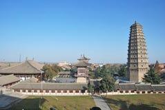 Famen Temple Pagoda In Xian Royalty Free Stock Image