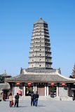 Famen Temple Pagoda in Xian Royalty Free Stock Image