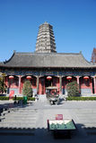 Famen Temple Pagoda in Xian Stock Photography