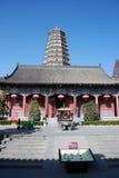 Famen Temple Pagoda in Xian Stock Photography
