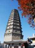 Famen Temple Pagoda in Xian Stock Photos