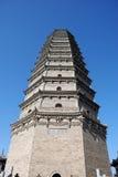 Famen Temple Pagoda in Xian Stock Image