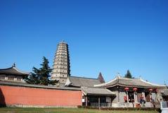 Famen Temple Pagoda in Xian Royalty Free Stock Photos