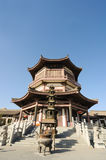 Famen Temple in Xian Royalty Free Stock Image