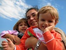 famiglia Fotografie Stock