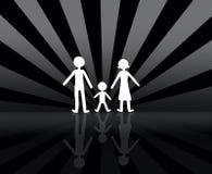 famiglia Fotografie Stock Libere da Diritti