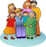 Famiglia 2 fotografie stock libere da diritti