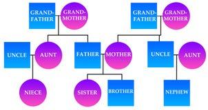 Famiglia illustrazione vettoriale