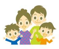 Famiglia royalty illustrazione gratis