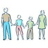 famiglia Immagine Stock