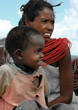 Famiglia africana Immagini Stock Libere da Diritti