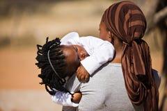 Famiglia africana Immagine Stock