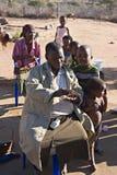 Famiglia africana Fotografia Stock Libera da Diritti