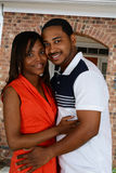 Famiglia afroamericana Fotografia Stock