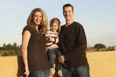 Famiglia all'aperto Fotografia Stock Libera da Diritti