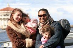 Famiglia americana Fotografie Stock
