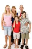 Famiglia americana tipica Fotografie Stock Libere da Diritti